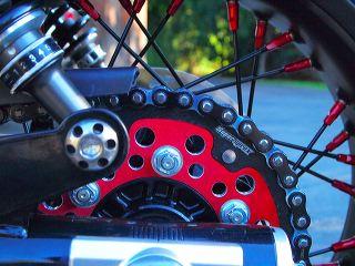 Sport Bike Chain Slack