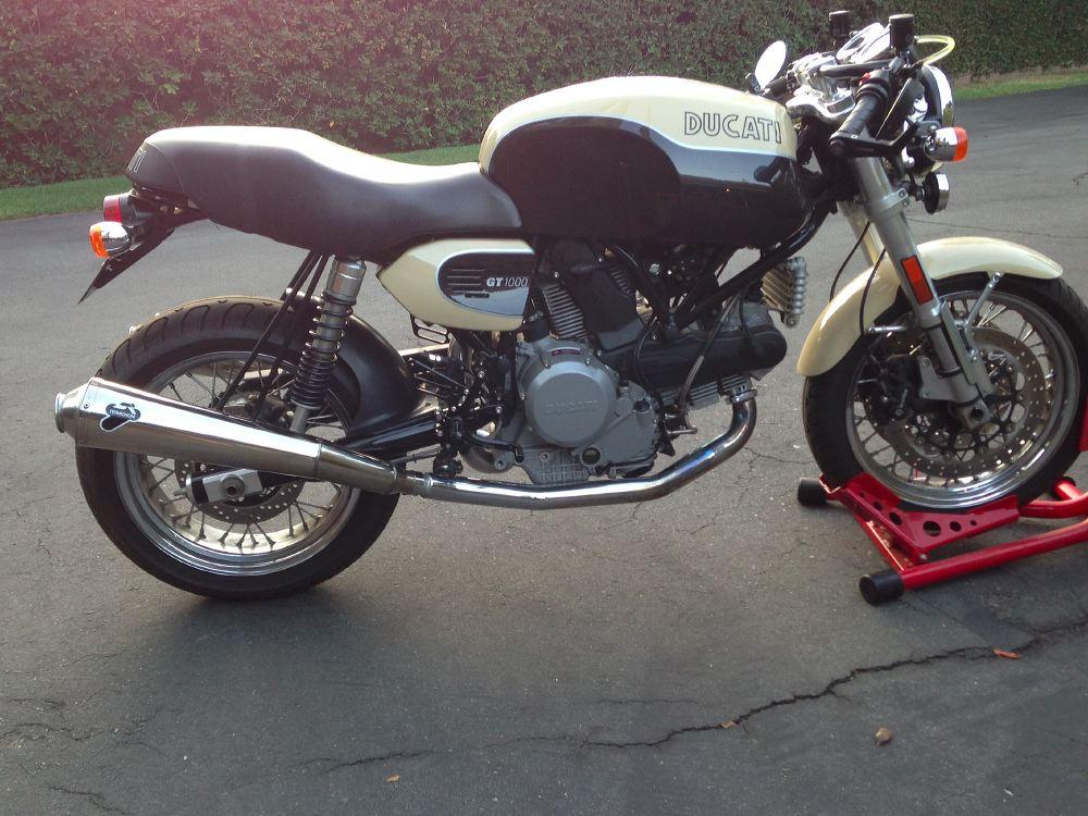 Ducati Sport Classic Exhaust Hanger